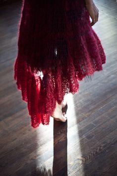 Knit dress. Photo by Sylvia Pereira.