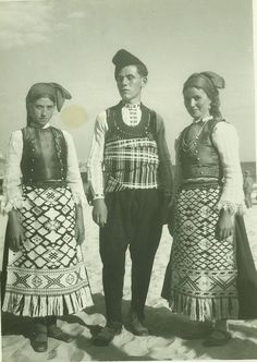 Bulgarians from Dobruja (northeastern Bulgaria & southeastern Romania).  Early 20th century.