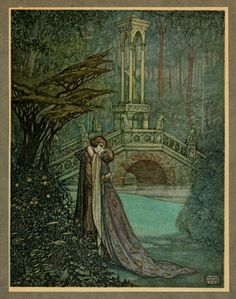 The Romance of Tristram and Iseult illustrated by Maurice Lalau - http://www.pierangelo-boog.com/2015/01/the-romance-of-tristram-and-iseult.html