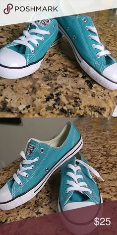 247728e2f976 Shop Women s converse Blue size 6 Athletic Shoes at a discounted price at  Poshmark. Description  Converse all star ladies.