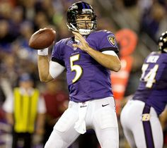 "Joe Flacco, Baltimore Ravens ""hometown boy"" from Audubon, NJ"