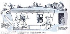 Survival Shelter, Camping Survival, Survival Prepping, Emergency Preparedness, Survival Skills, Bunker, Bushcraft, Apocalypse, Teen Bedroom Designs