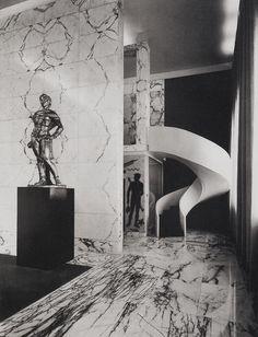 Luigi Moretti: Palestra del Duce, 1936-1937.