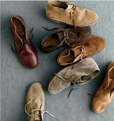 I know that not everyone shares my intense love of chukka boots, but they should. They're amazing.