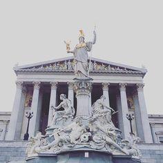 Parlament Wien   #Austria #bright #side #of #life #archifruit #instagood #travelgood #sun #travel #happiness #overdose #architecture #parliament #monument #bestlocation #vienna #wien #reisesucht #reiselust #traveladdiction