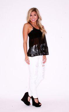 BB Dakota Moya in Black $78.00