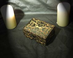 Lord Mock's Small Thorn Keepsake Box by LordMockDesigns on Etsy, $25.00