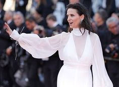 """Juliette Binoche attends the """"Okja"""" screening during the 70th annual Cannes Film Festival at Palais des Festivals on May 19, 2017 in Cannes, France"""