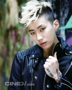 Jay Park. He look so cute in this one!