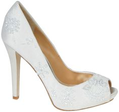 Bellissima Bridal Shoes is a top provider of wedding shoes online. Our selections include a wide selection of heels, flats and sandals from high-end designers. Stiletto Pumps, Peep Toe Pumps, Women's Pumps, Snow Wedding, Dream Wedding, Wedding Fun, Wedding Things, Perfect Wedding, Wedding Stuff