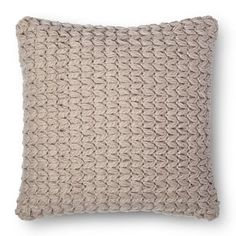 Chunky Knit Square Decorative Pillow- Room Essentials™