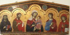 Guido da Siena. Pinacoteca Nazionale di Siena