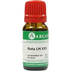 RUTA Arcana LM 30 Dilution:   Packungsinhalt: 10 ml Dilution PZN: 03505597 Hersteller: ARCANA Dr. Sewerin GmbH & Co.KG Preis: 7,69 EUR…