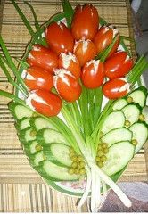 Fruit and Vegetable Carving Veggie Tray New Fruit, Fruit And Veg, Fruits And Veggies, Vegetables, Yummy Veggie, Veggie Tray, Vegetable Trays, Vegetable Salad, Veggie Food