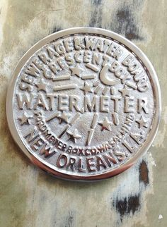 Fleurty Girl - Everything New Orleans - Water Meter Trivet - Kitchen/Bar - For the Home