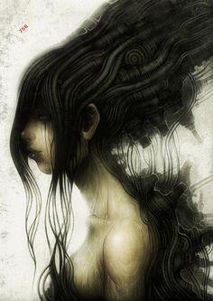 Digital Art by Shichigoro Shingo