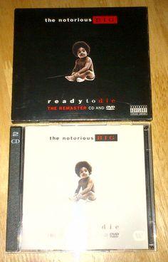 Notorious BIG Biggie Smalls Ready To Die The Remaster CD And DVD #uniqbeats #ebay #ebayuk