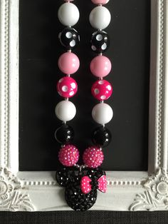 Character pendant bubblegum necklace by LilchicboutiqueLIC on Etsy