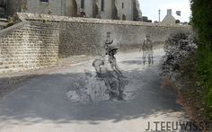 Ghosts of war - France; Church road   Flickr - Photo Sharing!