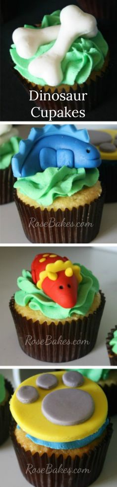 Dinosaur Cupcakes |