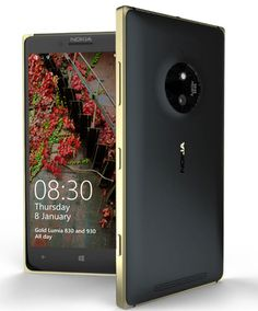 Version Lumia 830 Gold limited