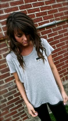Edgy in Gray. comfy & cute
