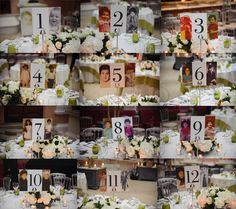 Southern style florida wedding table numbers clever and number unique wedding table number ideas wedding and bridal inspiration sciox Images
