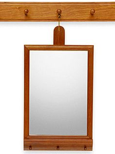 Shaker Hanging Mirror  Shakerworkshops.com