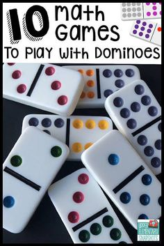 10 Math Games to Play with Dominoes - http://ift.tt/1HQJd81