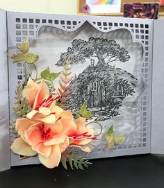 Sorry Quick Post. Happy Thursday, Happy Friday, Scratch Art, Whimsy Stamps, Christmas Rose, Flip Cards, Travel Themes, Flower Making, Altered Art