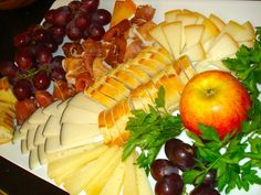 Spanish Cheese and Meat Plate + How To Assemble a Winning Cheese Plate