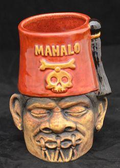 Shrunken Shriner Tiki Mug. WANT!