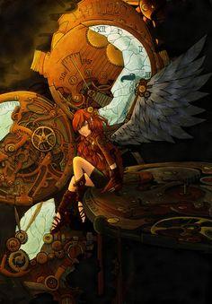 Steampunk Angel