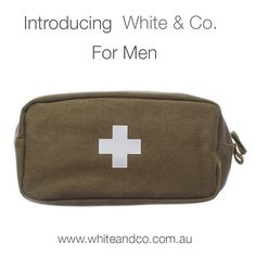 You asked so we delivered!  Introducing White & Co For Men. That last minute scramble to find something for the man in your life is over with our special collection of products men actually want!  You'll also receive 10% off your first order when you subscribe to our mailing list at www.whiteandco.com.au