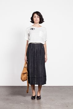 Image of Ace & Jig Midi Skirt
