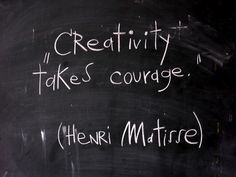 In the words of the great Henri Matisse. Motivacional Quotes, Quotable Quotes, Great Quotes, Words Quotes, Quotes To Live By, Inspirational Quotes, Sayings, Famous Quotes, Spirit Quotes