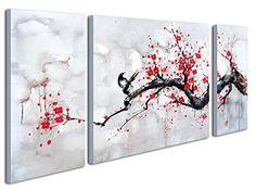 Black White Red Modern Abstract Cherry Blossom Wall Art P... https://www.amazon.com/dp/B01L1P36P8/ref=cm_sw_r_pi_dp_x_h016xbB3FRTHV