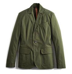Ventile® Combat Travel Blazer in Olive