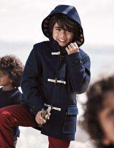 Duffle Coat - mini boden #boys