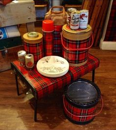 Skotch Koolers - vintage picnic baskets and thermoses