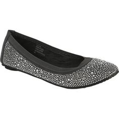 Women's Footzyfolds Crystal Charcoal - Overstock™ Shopping - Great Deals on Footzyfolds Flats