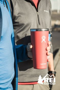Hydro Flask is more than a cool drink of water and a hot sip of coffee. Your trusty bottle has been there through it all—now you'll want to give the Hydro Flask Tumbler a place in your cup holder, too. With a fetching palette of colors, stellar insulation and new thermal lid for better temperature control, the Tumbler makes for happy campers indeed.