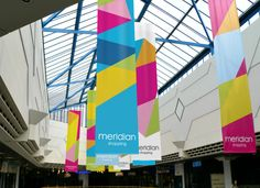 Summer banners for this shopping centre Event Signage, Event Branding, Wayfinding Signage, Signage Design, Environmental Graphics, Environmental Design, Flag Design, Banner Design, Conference Branding