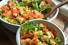 Here's a very simple, but packed with flavor (not to mention veggies!) salad to fuel you through your spring. I was inspired to make this salad when thinking back to a salad I made often in the early days of my marriage. My husband is a California boy who loved to eat very typical California cuisine when we were first married. I had to ...