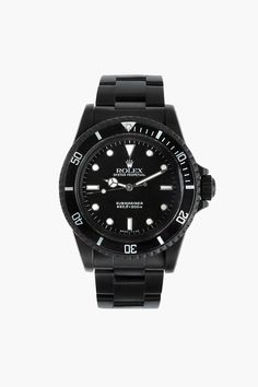 BLACK LIMITED EDITION Matte Black Limited Edition Rolex Submariner 5513