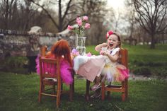2 year old girl tea party