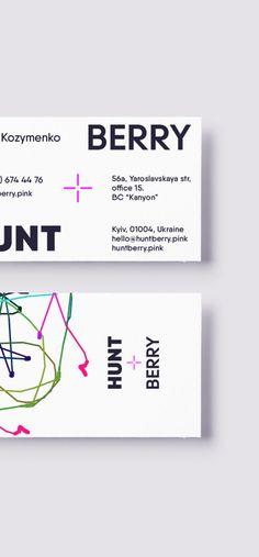 Huntberry Identity. #purple #electricpink #target #branding #logo