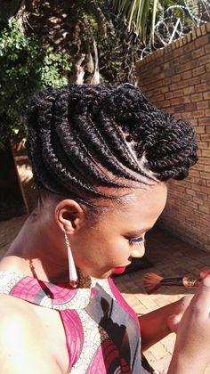 Because I love braided hair.