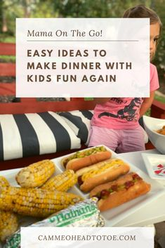 Easy and Fun Dinner Ideas for Kids using Nathan's Famous Hot & Ready Hot Dogs from Walmart! #Ad