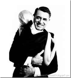 Cary Grant and Sunny Harnett photographed by Richard Avedon, New York, 1959